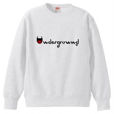 "MONARK""underground""crewneck sweat (white)"