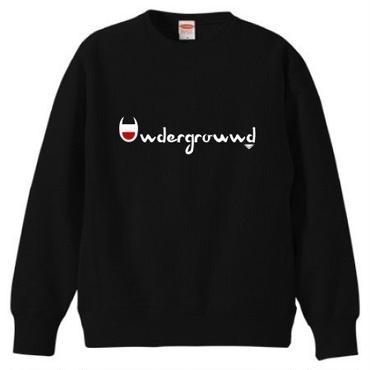 "MONARK""underground""crewneck sweat (black)"