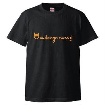 "MONARK""underground""tee (black/orange)"