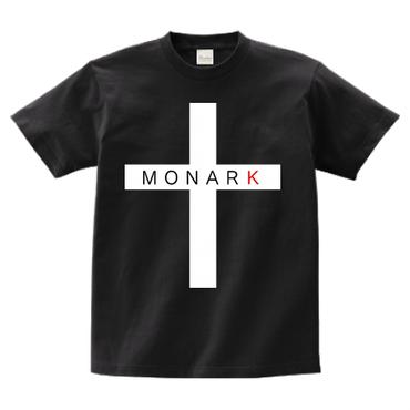 "MONARK ""cross"" S/S tee (Black)"