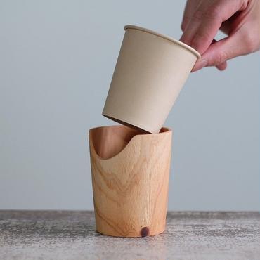 FUQUGI 木製カップホルダー(実物写真) 3