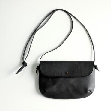 safuji  kinariバッグ(マチ深/ポケット付)ブラック