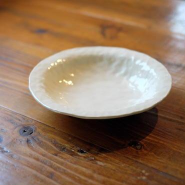 mouhitoaji  白いカレー皿