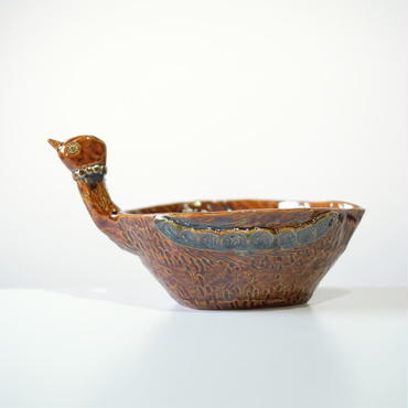 mouhitoaji  鳥の植木鉢1(現品写真)