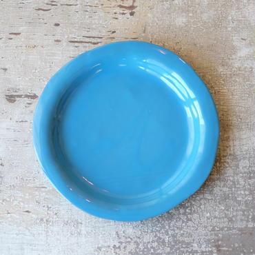 teto ceramic  リムプレート・大(モロッコブルー)