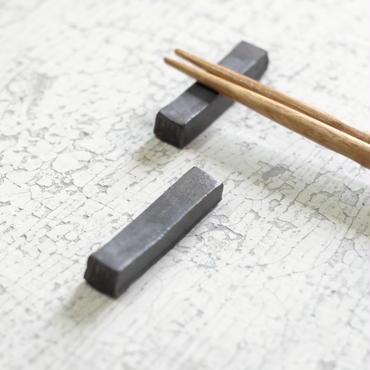 kobo syuro 銀彩釉 箸置き 2つセット
