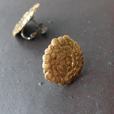 陶磁器イヤリング丸(現品写真)