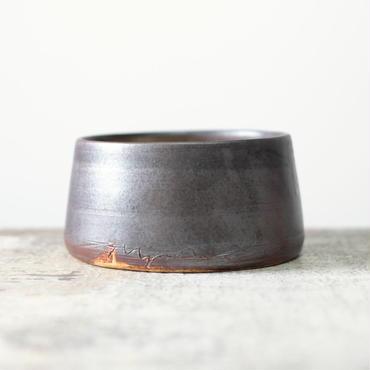kobo  syuro  銀彩釉 楕円鉢