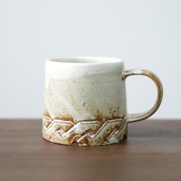 Kobo syuro 粉引マグカップ