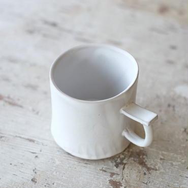 (再入荷)teto ceramic マグ・小(白マット)