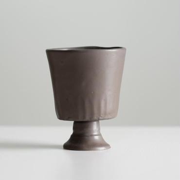 teto ceramic ゴブレット(錆鉄)