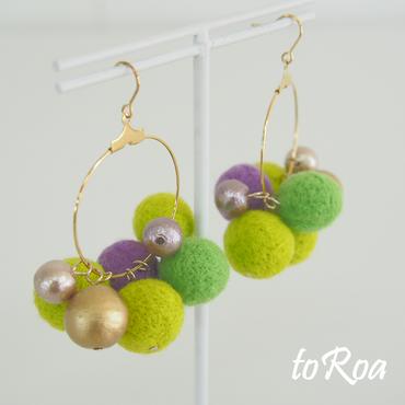 【toRoa】ピアス【568N】