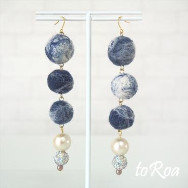 【toRoa】ピアス【573N】
