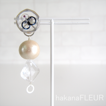 【hakanaFLEUR】ピアス【h-40】
