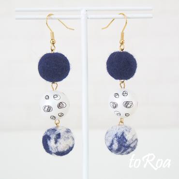 【toRoa】ピアス【10448M】