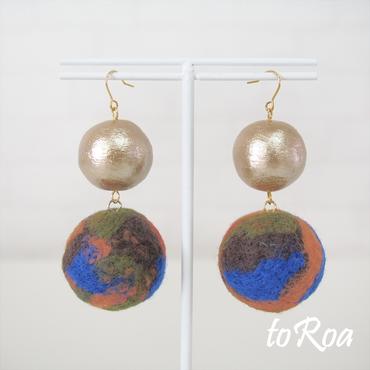 【toRoa】ピアス【578N】