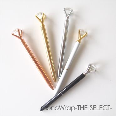 【MWS】  ダイヤモンドボールペン【5色】