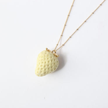 Strawberry Necklace [Green]