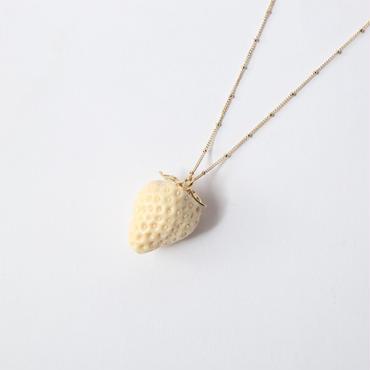 Strawberry Necklace [orange]