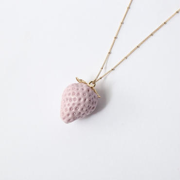 Strawberry Necklace [Purple]