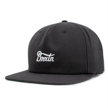 """【BRIXTON】POTRERO SNAPBACK CAP """"BLACK"""""""