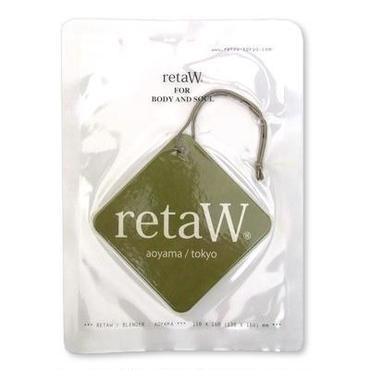 【retaW】   Fragrance Car Tag EVELYN*