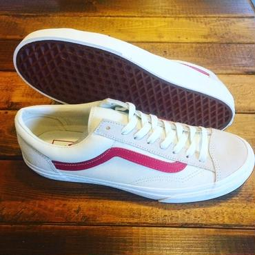 【VANS】Style 36 Marshmallow / Racing Red