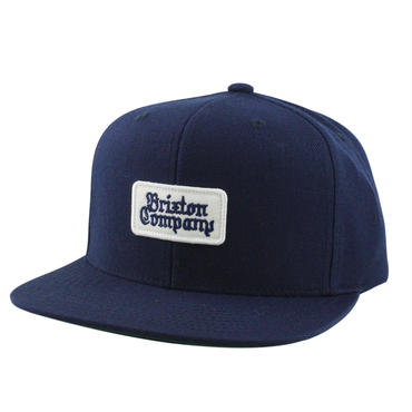 """【BRIXTON】BOYLE SNAPBACK CAP """"NAVY"""""""