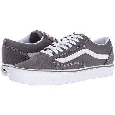 【VANS】Old Skool Lite (Suede/Canvas) Pewter