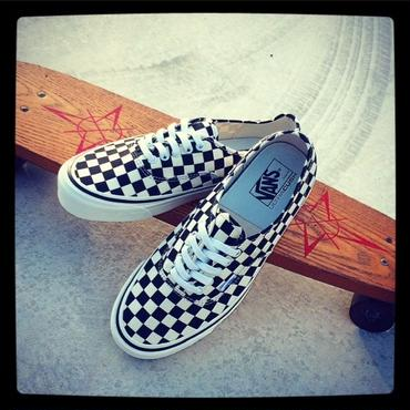【VANS】Authentic 44 DX (ANAHEIM FACTORY) BLACK / CHECK