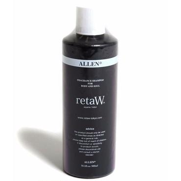 【retaW】  Fragrance Body Shampoo ALLEN*