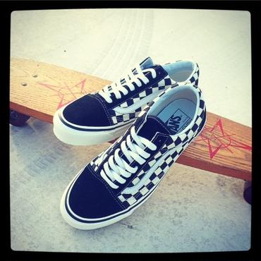 【VANS】Old Skool 36 DX (ANAHEIM FACTORY) BLACK / CHECK