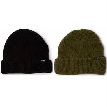 【BANKS】STAPLE BEANIE