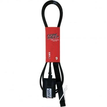 【CROW HALEY surf leash】9' REGULAR DS (足首用)