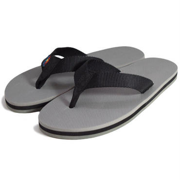 "【RAINBOW SANDALS】CLASSIC RUBBER ""GREY"""