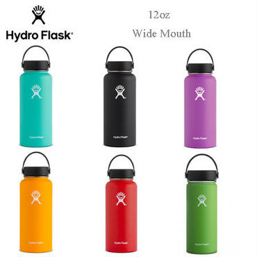 "【Hydro Flask】12oz Wide Mouth ""354ml"""