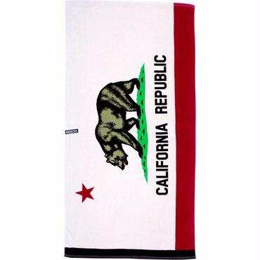 "【BEECH BRAND】ビーチタオル ""CALIFORNIA FLAG"""