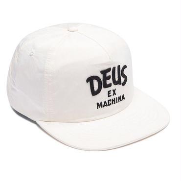 "【DEUS ex MACHINA】WAYNE CAP ""WHITE"""
