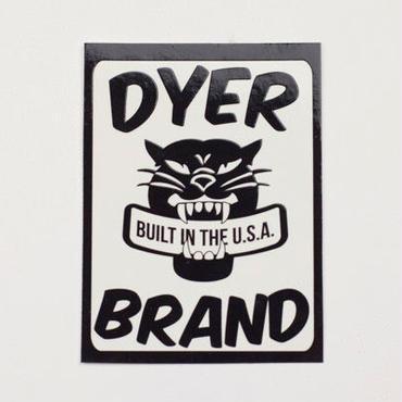 【DYER BRAND】ステッカー