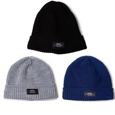 【BANKS】MARK BEANIE