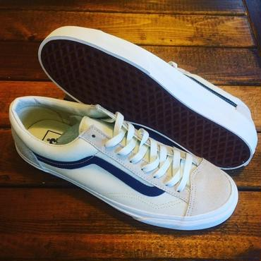 【VANS】Style 36 Marshmallow / Dress Blues