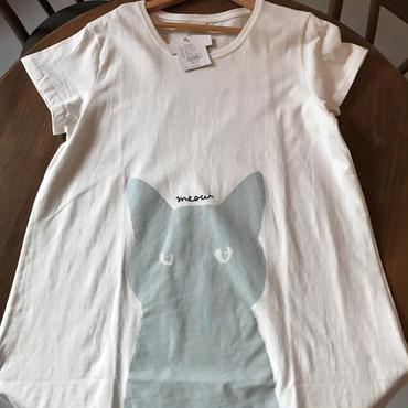 Tシャツ ルッキングキャット  ロング