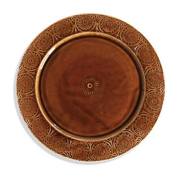 Ståmp Dinner plate brown