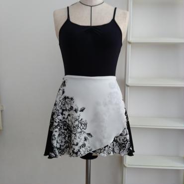 バレエ用巻きスカート