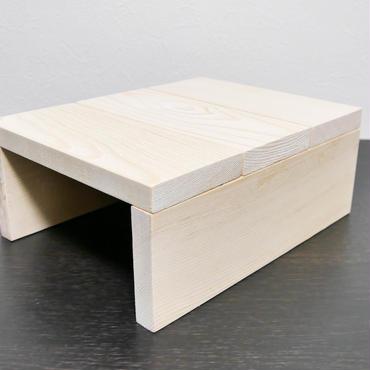 【受注生産】フトアゴヒゲトカゲ用木製シェルター