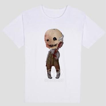 DBD デッドバイデイライト DEAD BY DAYLIGHT Tシャツ トラッパー オリジナル ホワイト