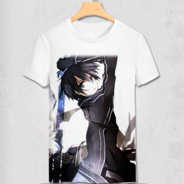 ソードアートオンライン SAO Tシャツ  キリト7