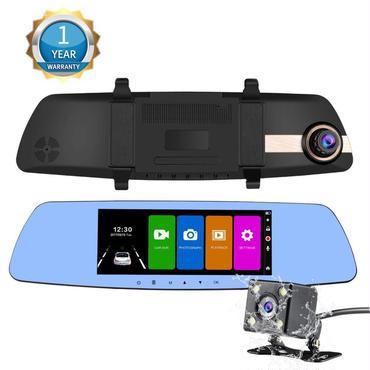 NexGadget ドライブレコーダー 7.0インチルームミラー型 大画面 タッチスクリーンドラレコ 1080P Full HD高画質 2カメラ