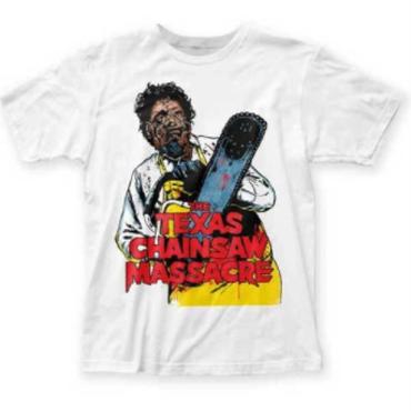 悪魔のいけにえ(TEXAS CHAINSAW MASSACRE)イラストのTシャツSML-XL-2XL
