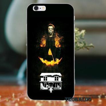 ハロウィーン マイケルマイヤーズ (Halloween Michael Myers)スマホケース カバー 保護ケース シリコン製 iphone用 20